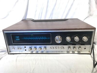 Vintage Pioneer QX-8000  receiver front  PANEL LED  LAMPS.