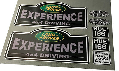 LAND ROVER EXPERIENCE 4X4 DRIVING HUE 166  - adesivi/adhesives/stickers/decal
