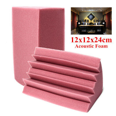 12x12x24cm Soundproof Studio Acoustic Corner Bass Trap Foam Absorption Treatment