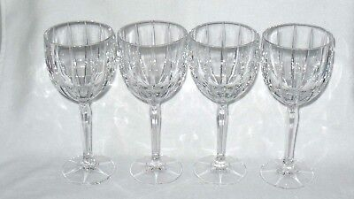 Marquis Waterford Crystal Omega All Purpose Wine Goblets Glasses - Set of 4