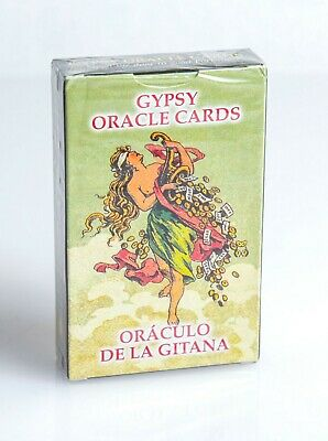 New Gypsy Oracle Cards Deck Russian English Manual Book Valentine's Day Gift