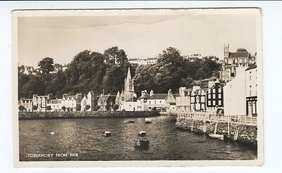 Postcard. Tobermory from Pier. Real Photo. Isle of Mull