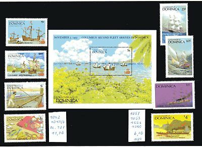 Karibik - Dominica -   Lot  1987  Mi.-18,00€