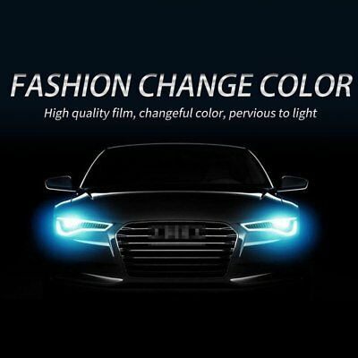 30x60cm Chameleon Color Changing Tint Vinyl Wrap Sticker Car Headlight Film WA
