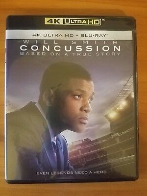Concussion (4K Ultra HD and Blu-ray) Will Smith - No Digital