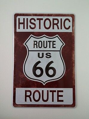 Historic Route 66  Sign (Americas Highway)