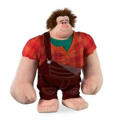 Disney Store Ralph Medium plush Soft Toy  Wreck-It Ralph 2 Breaks the Internet
