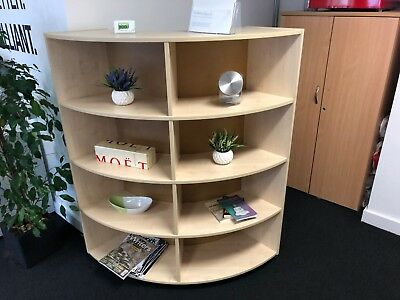 Office Style Corner Unit - Office Furniture - Storage / Display Unit /Book Shelf