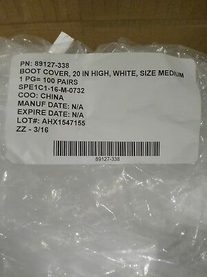 Tyvek IsoClean Medium Boot Cover 100/bx