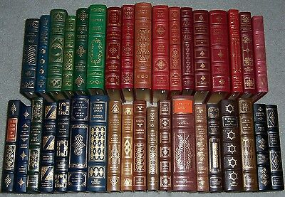 Franklin Library Limited Ed Greatest Books of Twentieth Century 50 vols COMPLETE