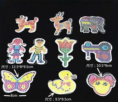 Funny DIY Toys For Children 5mm PP Perler Hama Beads General Template Pegboard