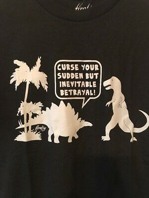 Firefly /Serenity Curse Your Sudden But Inevitable Betrayal T-Shirt, NEW Black M