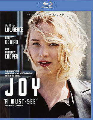 Joy (Blu-ray+Digital HD)BRAND NEW W/SLIPCOVER FREE SHIPPING!!!