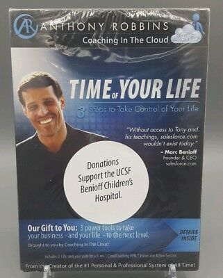 Audio CDs Anthony Robbins Time of Your Life - 3 Steps to Take Control of Life