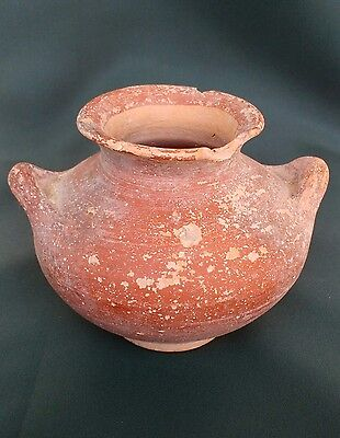 Superb Ancient Palastinian pottery pot 500BC Clay pot Middle East