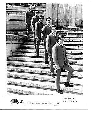 Orig. 1980's THE LOCOS EXCLUSIVOS Music Group Press Photo 8x10 Allied Int'L Prod
