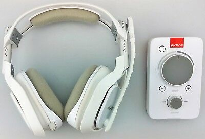 Astro A40 Gaming Headset + MixAmp Pro TR for Xbox One PC White Fair Shape