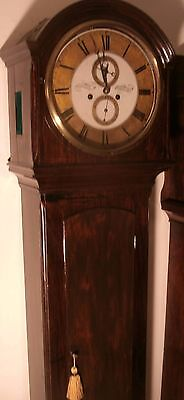 "Antique Mahogany  "" Broughty  Ferry ""   8 Day   Longcase / Grandfather Clock"