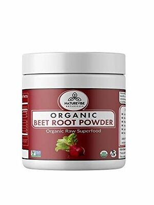 Organic Beet Root Powder (1 lb) Raw Non-GMO | Nitric Oxide Supplement |...