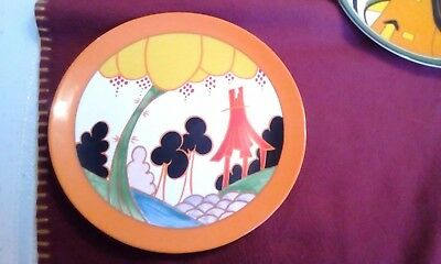 Clarice Cliff By Wedgewood Summer House Wall Hanging Plate
