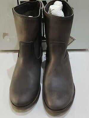 d26f264bcd4 FRYE WOMEN'S CARA Short Leather Boot - Smoke SIZE 7.5 M - $79.99 ...