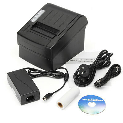 Wireless POS Receipt Printer 300mm/sec 80mm Thermal Dot Auto Cutter USB/Ethernet