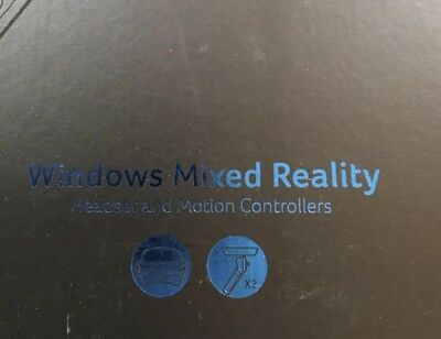 Brand New Acer AH101-D8EY Windows Mixed Reality Headset with Two Controllers