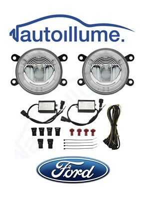 FORD Focus Mk2.5 Mk3 RS ST ZS C-Max Zetec S LED DRL Angel Eye Fog Light Kit