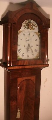 "Antique Mahogany "" Sunderland ""  30 Hour  Longcase / Grandfather Clock"