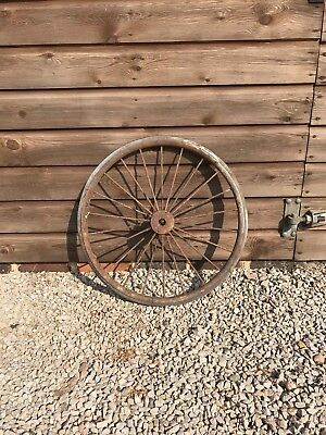 Sulky Cart Wheel