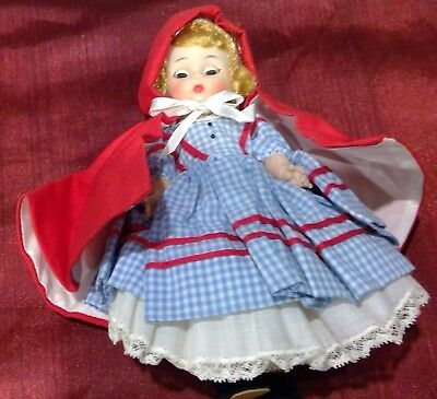 "Vintage 8"" Madame Alexander LITTLE RED RIDING HOOD Doll"