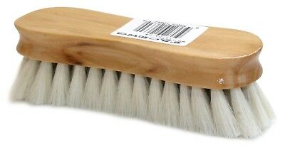 Horse Face Brush Equerry English Made Goat Hair