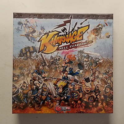 Kharnage... Hell Yearghh! Board Game Card Game Devil Pig Asmodee NEW SEALED MIB