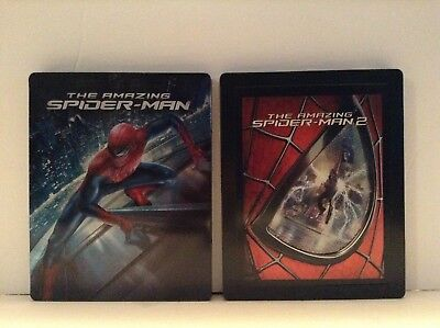 The amazing spiderman 1 & 2 - 2 limited edition steelbook  [Blu-ray]