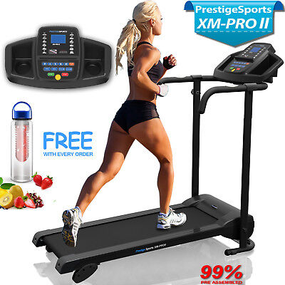 Treadmill Electric Folding Running Machine With Adjustable Incline XM-PRO II™