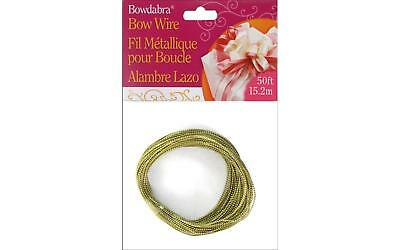 Darice Bowdabra Wire Gold 50ft