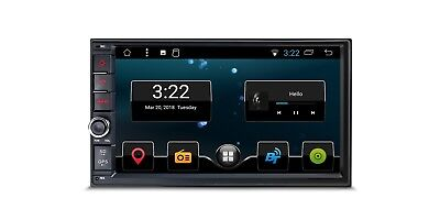 """7"""" Android 7.1 16GB ROM Double Din In Dash Car Stereo Multimedia Navigation Syst"""