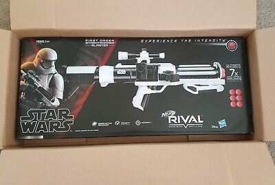 Nerf Rival Star Wars First Order StormTrooper Blaster NEW & SEALED SHIPS IN 24HR