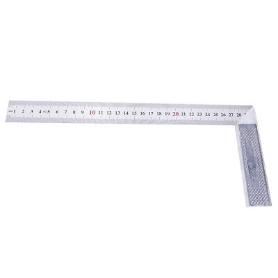 L- Square Stainless Steel 90 Degree Angle Ruler Measurement Tool Woodworking