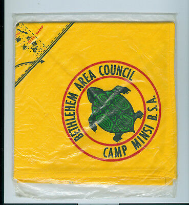 Camp Minsi neckerchief Bethlehem Area Council