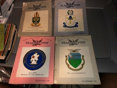 4 70's Era ASMIC American Society of Military INSIGNIA Collector Reference Books