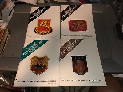 4 1992 Issues ASMIC American Society Military INSIGNIA Collector Reference Books