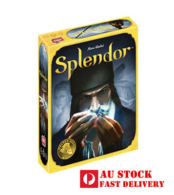 NEW Splendor Board Game - AGE 10+, 2-4 players, 30mins to play