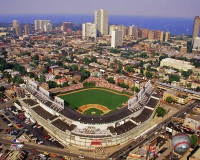WRIGLEY FIELD ~ 8x10 Color Photo Picture ~ Aerial View ~ Chicago Cubs