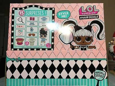 Lot Of 6 LOL SURPRISE! series 5 - HAIRGOALS makeover series-AUTHENTIC*IN HAND*