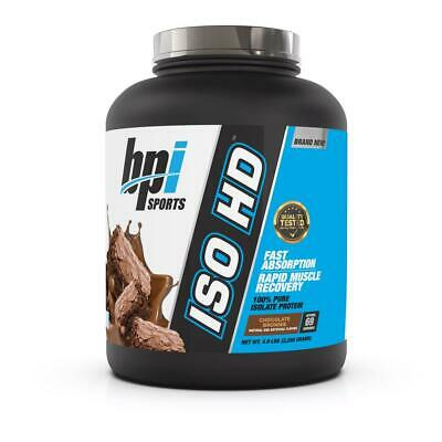 <NEW> BPI SPORTS ISO HD 69serving 100% PURE ISOLATE l ZERO FILLERS