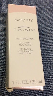 Mary Kay TimeWise Night Solution (1 Oz.) #002339 (NEW IN BOX!) Dry to Oily