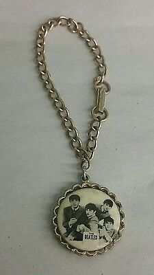 Vintage 1964 The Beatles Charm Bracelet By NEMS ENT. LTD. Extra Nice!