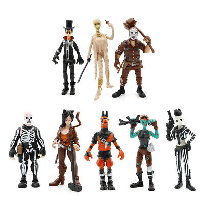 """8Pc/set 3.5"""" Fortnight Fortnite Action Figure Model Toy Anime Figures Collection"""