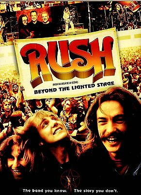 NEW SLIPCOVER  DVD  -  Rush : Beyond the Lighted Stage - 5.1 AUDIO -